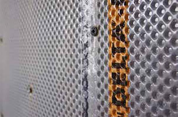 cavity drain membrane system